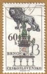 Stamps Czechoslovakia -  BRNO