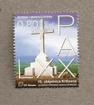 Stamps Europe - Bosnia Herzegovina -  Cruz en el monte Krizevac