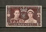 Stamps Europe - United Kingdom -  Coronacion de Jorge VI y de la reina Elizabeth