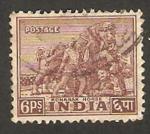 Stamps : Asia : India :  8 - caballo Konarak