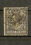 Stamps Europe - United Kingdom -  Jorge V/ Perforado ( B&S Ld)