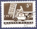 Stamps Hungary -  MAGYAR Carretilla 5