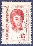 Stamps Argentina -  ARG San Martín 15 (1)