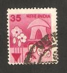 Sellos de Asia - India -  635 - planificación familiar