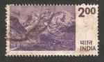 Stamps India -  el himalaya