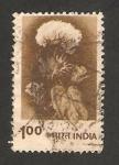 Stamps India -  algodón