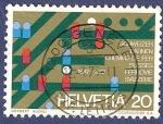Stamps Switzerland -  SUIZA Ferrocarriles suizos 20