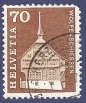 Stamps Switzerland -  SUIZA Wolfenscheissen 70