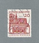 Stamps Germany -  Lorgonihessen (repetido)