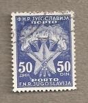 Stamps Yugoslavia -  Antorchas y estrella