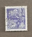 Stamps Yugoslavia -  Vista de Zagreb