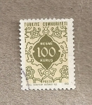 Stamps Turkey -  Sello oficial