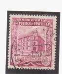 Stamps Venezuela -  oficina principal de correos-caracas