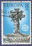 Stamps Andorra -  ANDORRA Creu de les Set Banyes CEPT 8