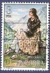 Stamps Andorra -  ANDORRA La pubilla 3