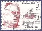 Stamps Andorra -  ANDORRA Bisbe Josep Caixal 5