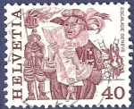 Stamps : Europe : Switzerland :  SUIZA Escalade Genève 40 (2)