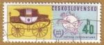 Stamps Europe - Czechoslovakia -  SVETOVA POSTOVA UNIA