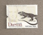 Stamps Portugal -  Iguana