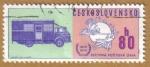 Stamps Czechoslovakia -  SVETOVA POSTOVA UNIA