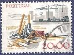 Sellos de Europa - Portugal -  PORTUGAL Albañilería 20