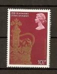 Stamps United Kingdom -  25 aniversario de la coronacion de Elizabeth II