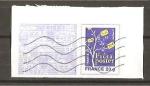 Sellos de Europa - Francia -  Fragmento de carta con sello pre - impreso.