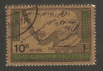 Sellos de Asia - Yemen -  canciller adenauer
