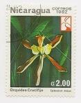 Stamps Nicaragua -  Orquídea Crucifijo