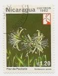 Stamps Nicaragua -  Flor de Pochote