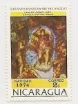 Stamps Nicaragua -  500° Aniversario de Michelangelo