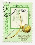 Stamps Mozambique -  Instrumentos musicales