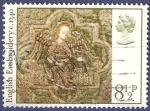 Sellos de Europa - Reino Unido -  UK English Embroidery 8,50