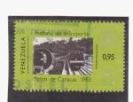 Stamps Venezuela -  Historia del transporte- metro de Caracas