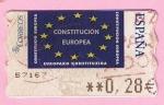 Stamps Spain -  119  Contitucion Europea