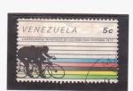 Stamps Venezuela -  Campeonatos mundiales de ciclismo