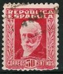 Stamps Spain -  659  Pablo Iglesias (1)