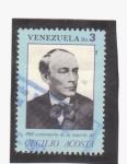 Sellos del Mundo : America : Venezuela : centenario muerte de cecilio acosta
