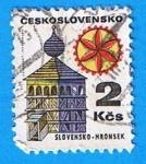 Sellos de Europa - Checoslovaquia -  Slovensko-Hronsek