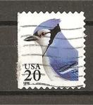 Stamps United States -  Sello de 1995 - Adhesivo - Arrendajo Azul.