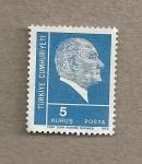 Stamps Turkey -  Kemal Atartürk