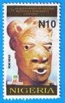 Stamps Nigeria -  Nok Head