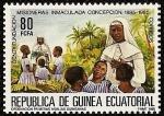 Stamps Equatorial Guinea -  I Centº Fundación Misioneras  Inmaculada Concepción