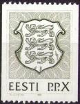Stamps Europe - Estonia -  Escudo verde