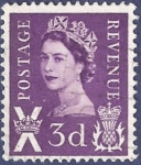 sellos de Europa - Reino Unido -  UK Postage Revenue X 3d
