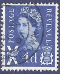 sellos de Europa - Reino Unido -  UK Postage Revenue X 4d