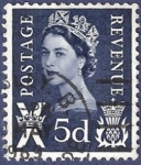 sellos de Europa - Reino Unido -  UK Postage Revenue X 5d