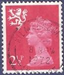 Stamps United Kingdom -  UK QEII Escocia 2,50