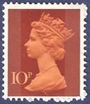 Stamps United Kingdom -  UK QEII 10
