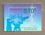 Stamps Finland -  50 años televisión en Finlandia